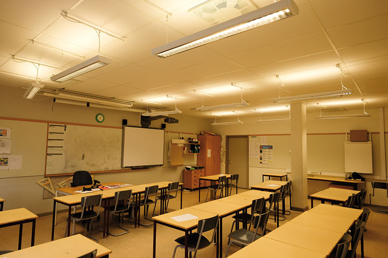 Malmo School Introduces Human Centric Lighting Lighting